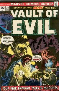 Cover Thumbnail for Vault of Evil (Marvel, 1973 series) #22