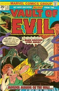 Cover Thumbnail for Vault of Evil (Marvel, 1973 series) #23
