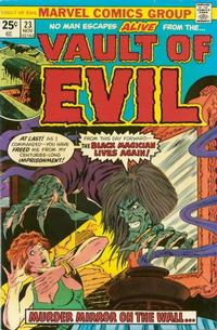 Cover Thumbnail for Vault of Evil (Marvel, 1973 series) #23