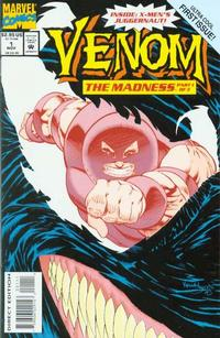 Cover Thumbnail for Venom: The Madness (Marvel, 1993 series) #1 [Direct Edition]