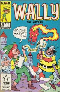 Cover Thumbnail for Wally the Wizard (Marvel, 1985 series) #2 [Direct Edition]
