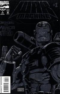 Cover Thumbnail for War Machine (Marvel, 1994 series) #1 [Foil-Enhanced Cover]