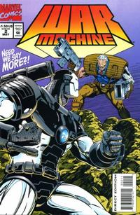 Cover Thumbnail for War Machine (Marvel, 1994 series) #2 [Direct Edition]