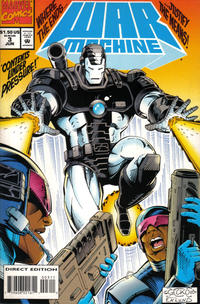 Cover Thumbnail for War Machine (Marvel, 1994 series) #3