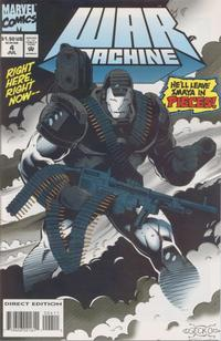 Cover Thumbnail for War Machine (Marvel, 1994 series) #4