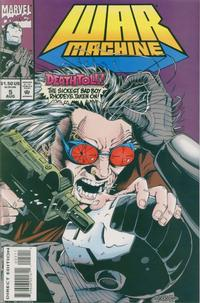 Cover Thumbnail for War Machine (Marvel, 1994 series) #5