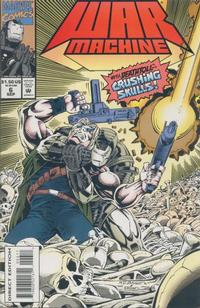 Cover Thumbnail for War Machine (Marvel, 1994 series) #6