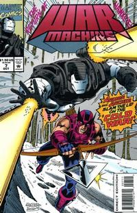 Cover Thumbnail for War Machine (Marvel, 1994 series) #7