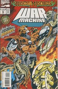 Cover Thumbnail for War Machine (Marvel, 1994 series) #10