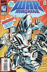 Cover Thumbnail for War Machine (Marvel, 1994 series) #13
