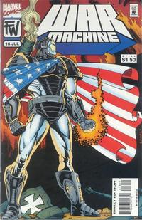 Cover Thumbnail for War Machine (Marvel, 1994 series) #16
