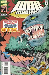 Cover Thumbnail for War Machine (Marvel, 1994 series) #18