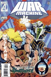 Cover Thumbnail for War Machine (Marvel, 1994 series) #20