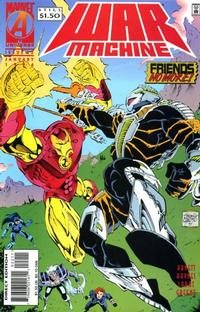 Cover Thumbnail for War Machine (Marvel, 1994 series) #22