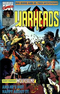 Cover Thumbnail for Warheads (Marvel, 1992 series) #1