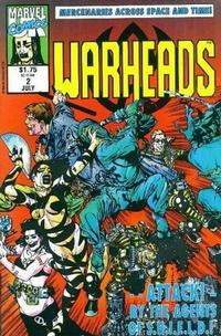 Cover Thumbnail for Warheads (Marvel, 1992 series) #2