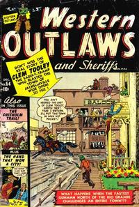 Cover Thumbnail for Western Outlaws and Sheriffs (Marvel, 1949 series) #64