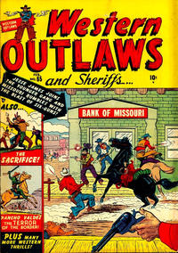 Cover Thumbnail for Western Outlaws and Sheriffs (Marvel, 1949 series) #65