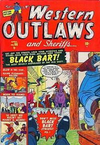 Cover Thumbnail for Western Outlaws and Sheriffs (Marvel, 1949 series) #66