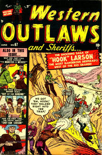 Cover Thumbnail for Western Outlaws and Sheriffs (Marvel, 1949 series) #67