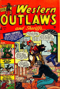 Cover Thumbnail for Western Outlaws and Sheriffs (Marvel, 1949 series) #68