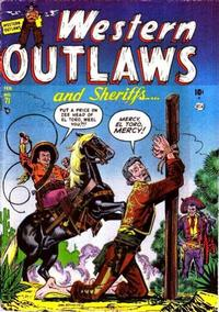 Cover Thumbnail for Western Outlaws and Sheriffs (Marvel, 1949 series) #71