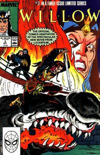 Cover Thumbnail for Willow (Marvel, 1988 series) #3 [Direct Edition]