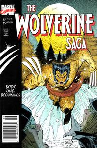 Cover Thumbnail for The Wolverine Saga (Marvel, 1989 series) #1