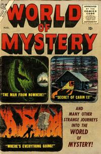 Cover Thumbnail for World of Mystery (Marvel, 1956 series) #2