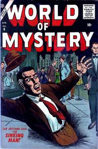 Cover Thumbnail for World of Mystery (Marvel, 1956 series) #6