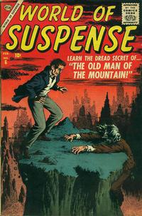 Cover for World of Suspense (Marvel, 1956 series) #6