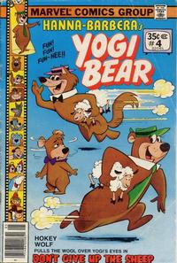 Cover Thumbnail for Yogi Bear (Marvel, 1977 series) #4