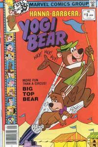 Cover Thumbnail for Yogi Bear (Marvel, 1977 series) #8