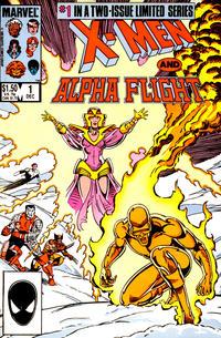 Cover Thumbnail for X-Men / Alpha Flight (Marvel, 1985 series) #1 [Direct]