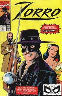 Cover Thumbnail for Zorro (Marvel, 1990 series) #2