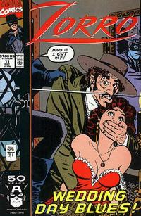 Cover Thumbnail for Zorro (Marvel, 1990 series) #11