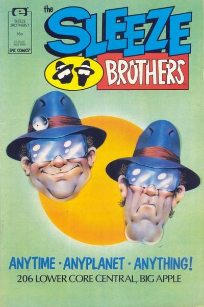 Cover for Sleeze Brothers (Marvel, 1989 series) #1