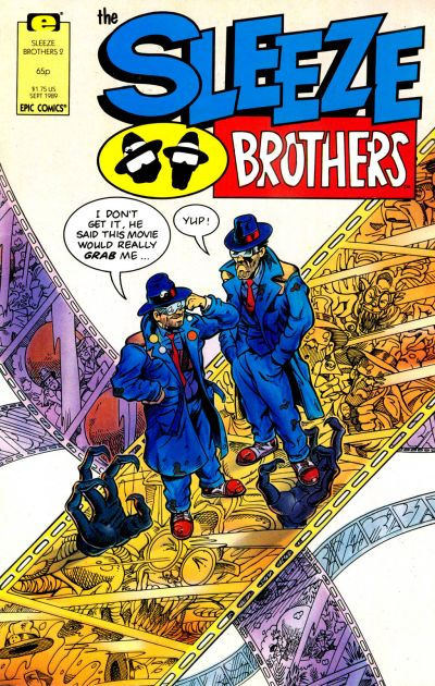 Cover for Sleeze Brothers (Marvel, 1989 series) #2