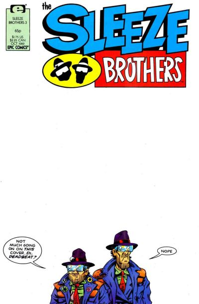 Cover for Sleeze Brothers (Marvel, 1989 series) #3