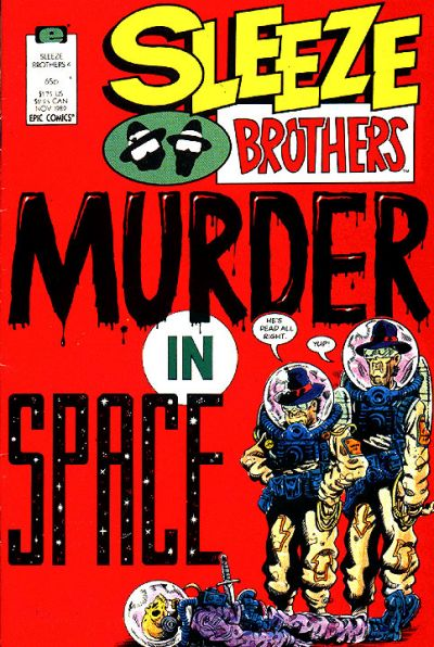 Cover for Sleeze Brothers (Marvel, 1989 series) #4