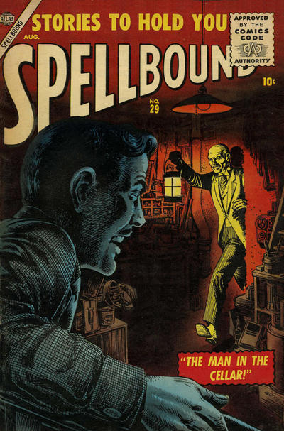 Cover for Spellbound (Marvel, 1952 series) #29