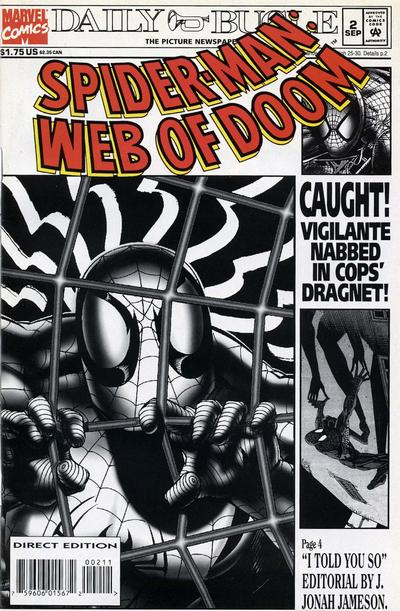 Cover for Spider-Man: Web of Doom (Marvel, 1994 series) #2
