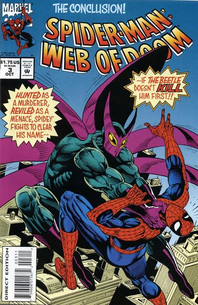 Cover for Spider-Man: Web of Doom (Marvel, 1994 series) #3