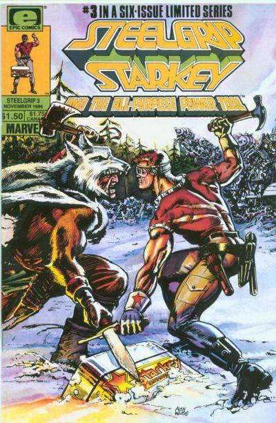 Cover for Steelgrip Starkey (Marvel, 1986 series) #3