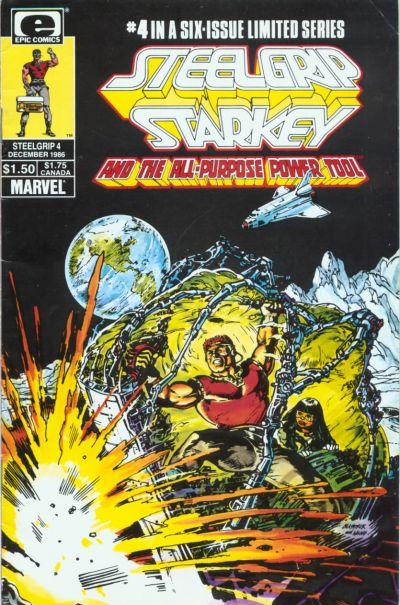 Cover for Steelgrip Starkey (Marvel, 1986 series) #4