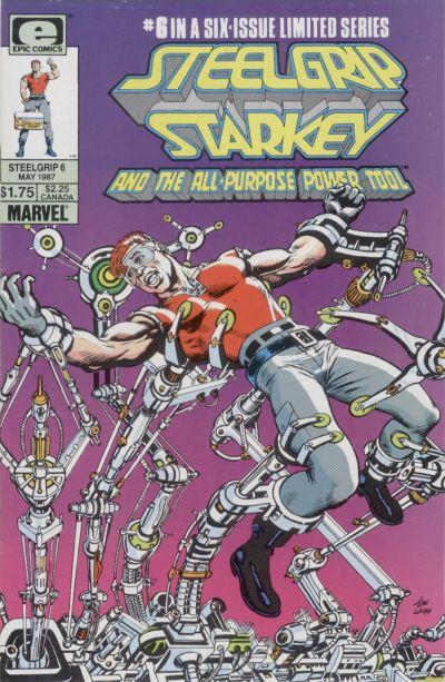 Cover for Steelgrip Starkey (Marvel, 1986 series) #6