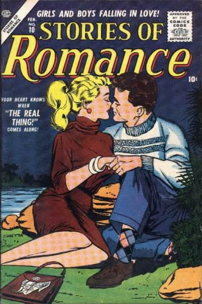 Cover for Stories of Romance (Marvel, 1956 series) #10