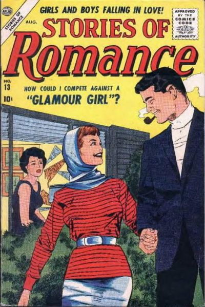 Cover for Stories of Romance (Marvel, 1956 series) #13