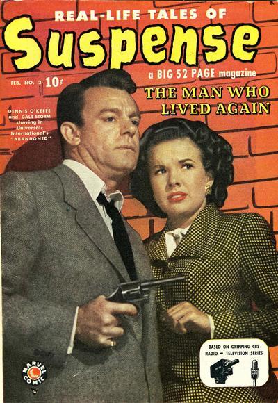 Cover for Suspense (Marvel, 1949 series) #2