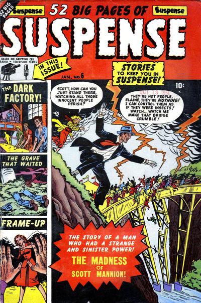Cover for Suspense (Marvel, 1949 series) #6